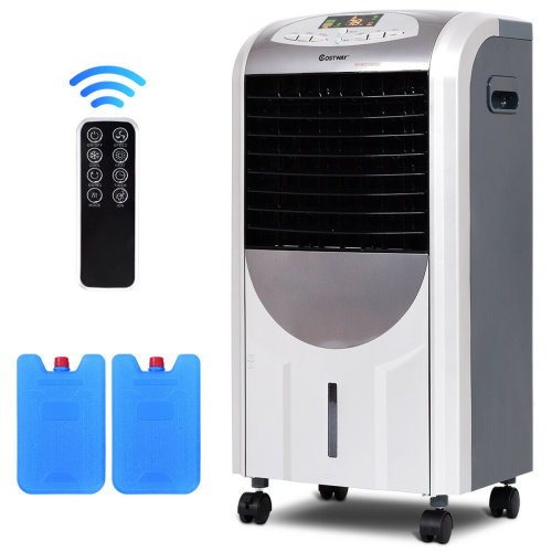 5-IN-1 Evaporative Air Cooler Fan Heater Air Purifier Humidifier 3 Speed 7L Tank