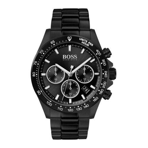 Hugo Boss Hero Premium Men's Black Designer Watch HB1513754
