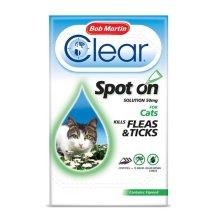 Bob Martin Clear Spot On Cat Fipronil Flea & Tick Treatment