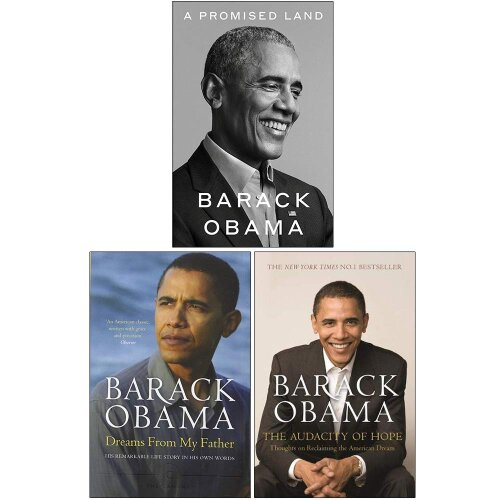Barack Obama Collection 3 Books Set