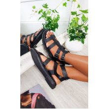 IKRUSH Womens Tessi Strappy Flat Sandals