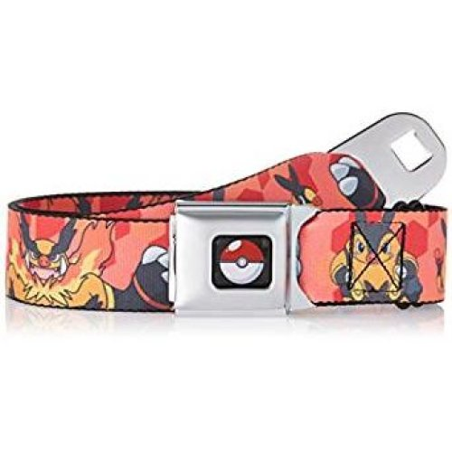 Seatbelt Belt - Pokemon - V.26 Adj 24-38' Mesh New pka-wpk025