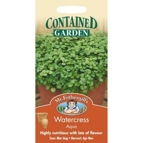 Mr Fothergills - Pictorial Packet - Herb - Watercress Aqua - 1000 Seeds
