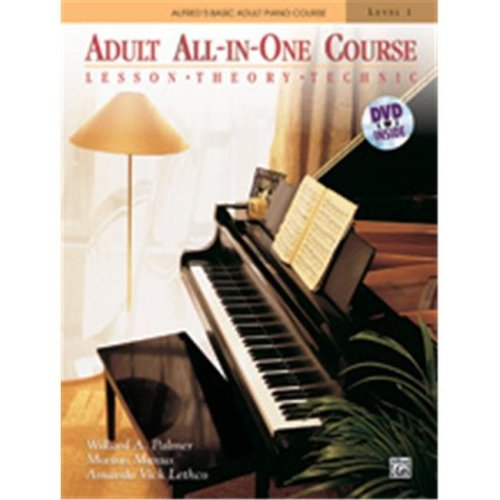 Alfred 00-37748 ABPA-ADULT ALL-IN-ONE 1-BK&DVD