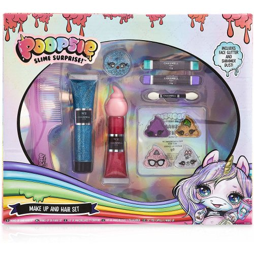Poopsie Unicorn Surprise Hair and Make Up Set