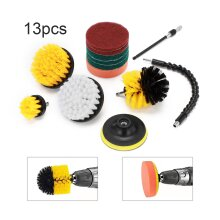 13X Drill Brush Cleaning Power Scrub Cleaner Kit Combo