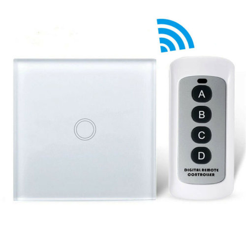 Wireless Smart Home Touch Wall Lamp Light Switch With Remote Control