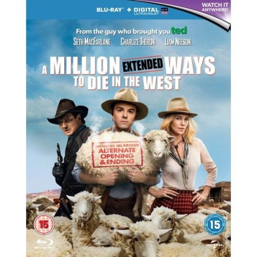 A Million Ways To Die In The West Blu-Ray [2014]