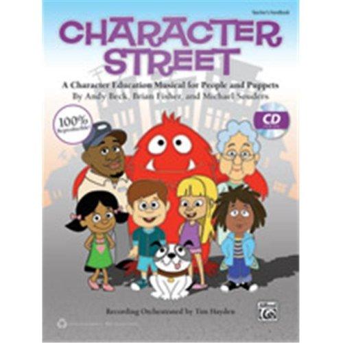 Alfred 00-41757 CHARACTER STREET-BK&CD