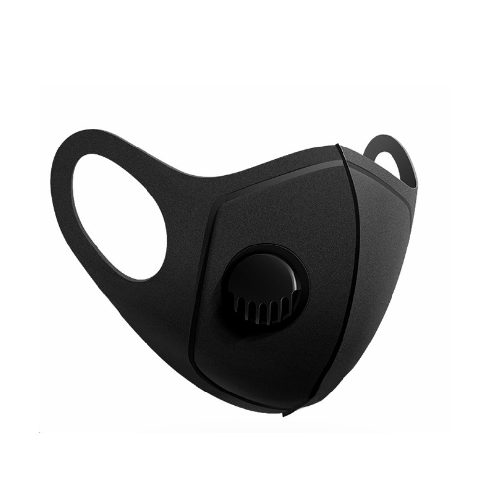 3D face mask and bacteria-proof respirator with respirator valve