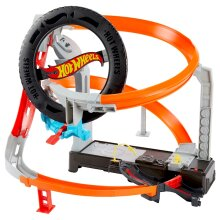 Hot Wheels Hyper Boost Tyre Shop Playset