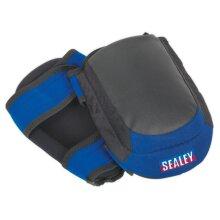 Sealey SSP63 Heavy-Duty Double Gel Knee Pads - Pair