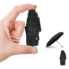 Mini Pocket Fold Umbrella Small Super Light Five-fold Bag Windproof