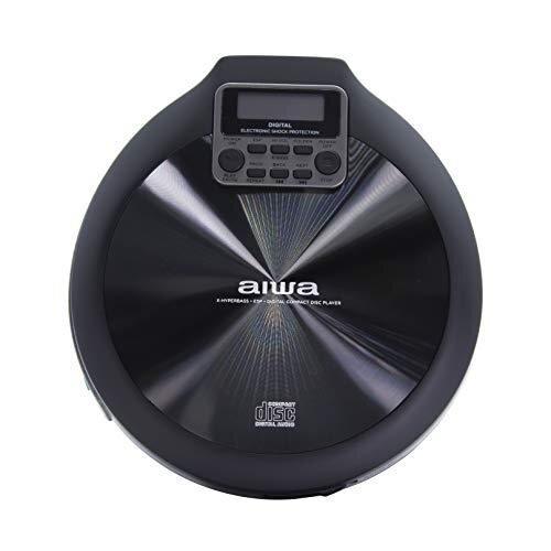 AIWA PCD-810BK CD Player Grey and Black