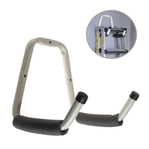 Heavy Duty Double Padded Storage Hook for Bikes, Garages, Sheds, Ladders & Tools