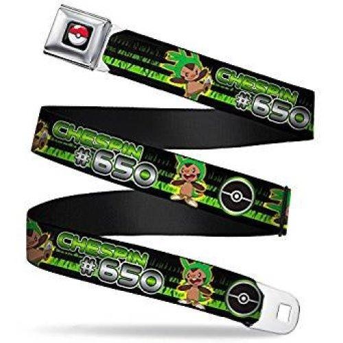 Seatbelt Belt - Pokemon - V.103 Adj 24-38' Mesh New pka-wpk148