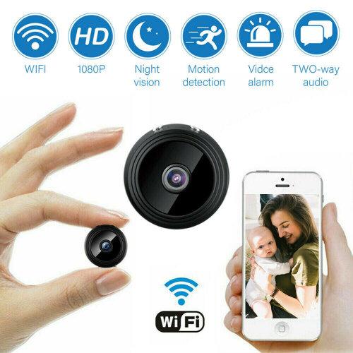 Mini Spy IP Camera Wireless WiFi HD 1080P Hidden Home Security
