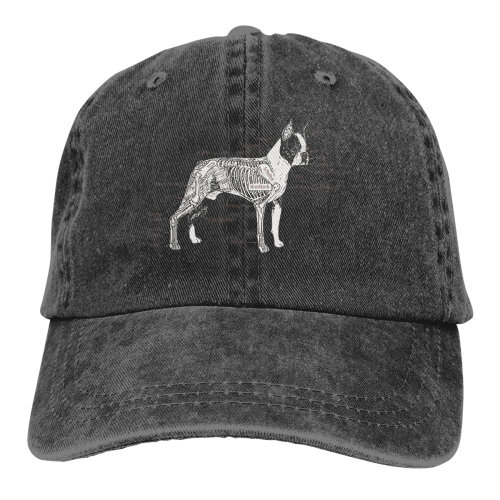 Know A Boston Terrier Denim Baseball Caps