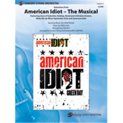 Alfred 00-35939 AMERICAN IDIOT MUSICAL-PCS