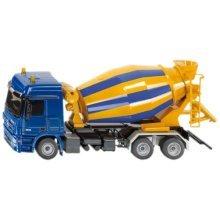 1:50 Siku Concrete Mixer Model - 3539 Truck 150 Actros Assorted Colours -  siku mixer 3539 model truck concrete 150 actros assorted colours
