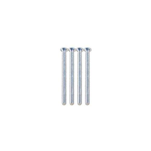 SparkPak 3.5 x 75mm Nickel Plated Screws - Pack of 2 For General Purpose