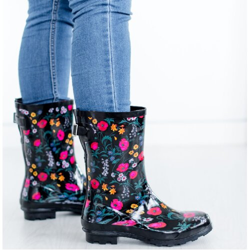 Ladies Womens Wellies Rain Wellington Boots