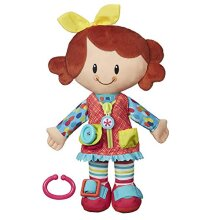Playskool Classic Dressy Kids Girl Plush Toy for Toddlers From Age 2 (Amazon Exclusive)