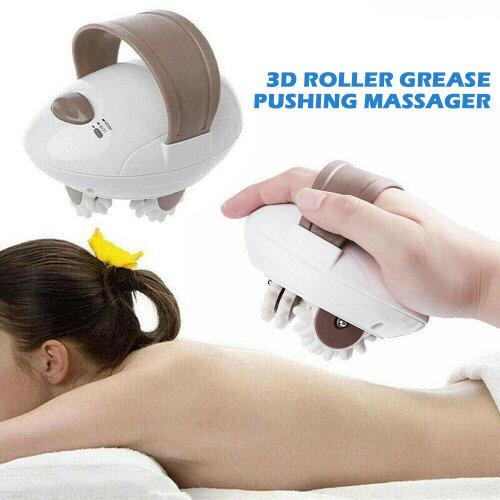 3D Roller Body Massaging Shaper Electric Fat-Burning Body Massage Roller UK Plug