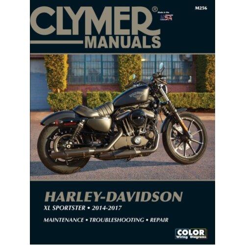 Clymer Harley-Davidson XL Sportster 2014 - 2017 by Clymer Publications