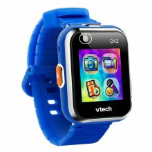 """VTech Kidizoom Smart Watch DX2 For Kids?1.4"""" Touch Screen?Dual Camera?Blue?4+Yrs"""