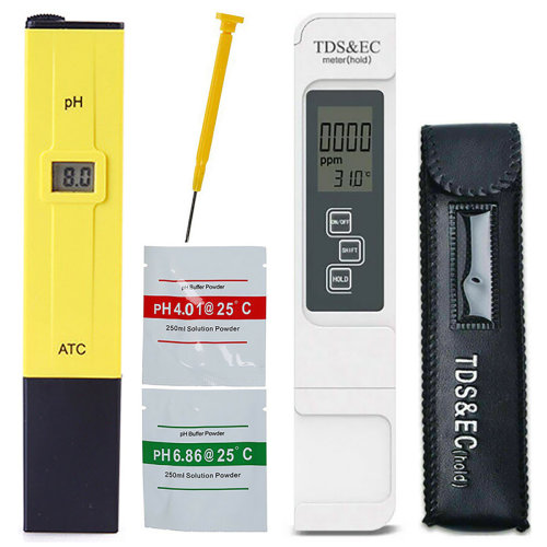 Digital Electric PH/TDS/EC Meter Tester Pool Aquarium Hydroponic Water Test Pen