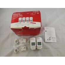 Honeywell Home HR924UK evohome Wireless Radiator TRV Heads Pack of 2