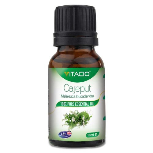 Pure & Natural Cajeput Essential Oil 10ml VitacioUK