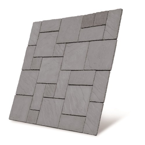 Cathedral Paving Patio Kit 5.76m2 Weathered Moss