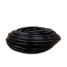 Virgin Methanol SILICON HOSE Speedway 6mm bore PVC Reinforced Fuel pipe - Black