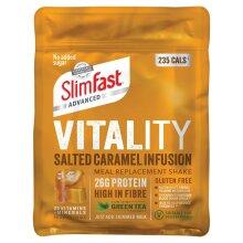 SlimFast Vitality Salted Caramel Infusion Powder