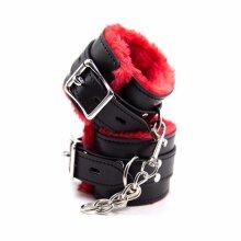 Quality Handcuffs / Leg Cuffs, Fur Lined BDSM Bondage