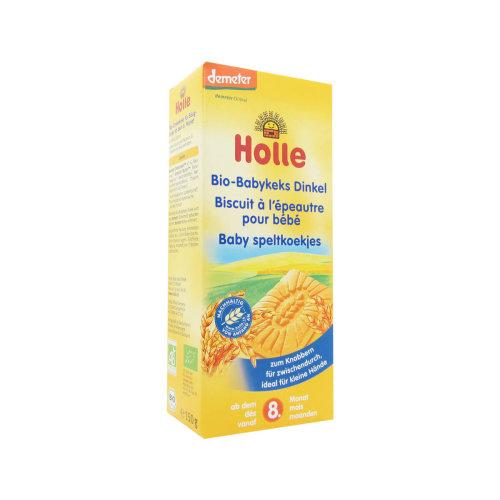 Holle Bio Spelta Wheat Biscuits 8M+ 150g