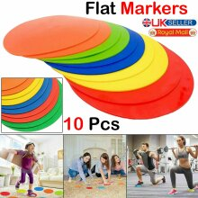 lat Round Rubber Cones Training Spot Markers Football Pitch Floor