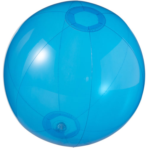 (25cm, Blue) Bullet Ibiza Transparent Beach Ball