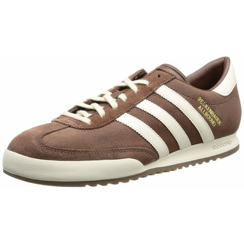 (Brown, 9 UK) Adidas Originals Beckenbauer Allround Mens Brown Trainer Shoes