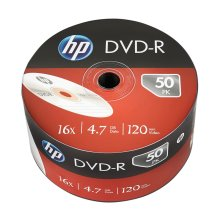HP DVD-R 16X 4.7GB Wrap Pack of 50 69303 HP69303