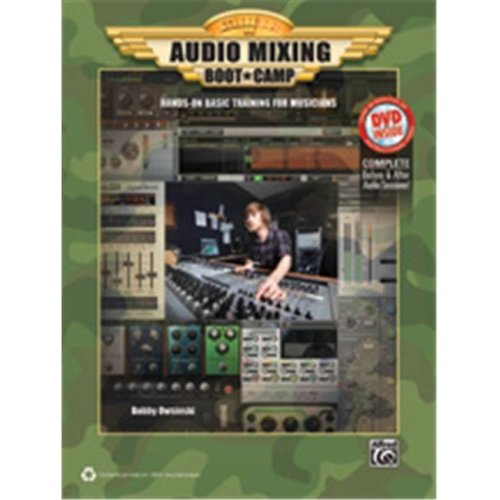 Alfred 00-37741 AUDIO MIXING BOOT CAMP-BK&DVD