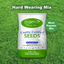 Ivisons Hard Wearing Quality Lawn Grass Seed