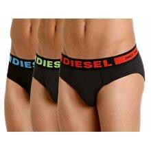 DIESEL SEASONAL Mens Briefs 3 Pack Boxer Trunks