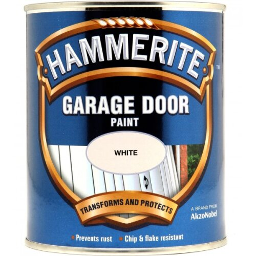 HAMMERITE Garage Door Paint - White - 750ml [5092848]