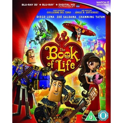 The Book Of Life 3D+2D Blu-Ray [2015]