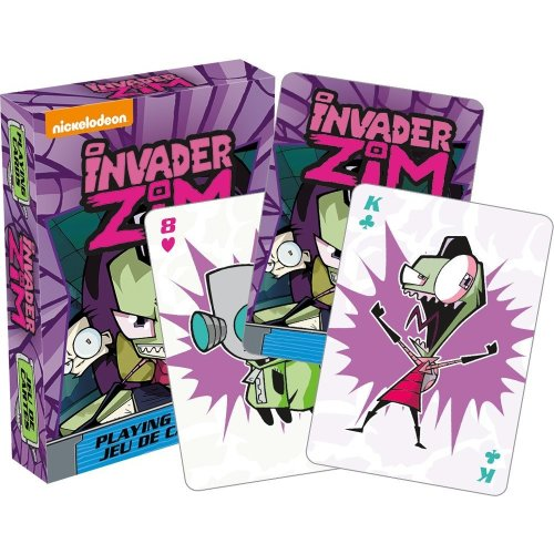 Playing Card - Invader Zim - Poker 52495