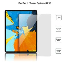 Ultra Clear 9H Anti Fingerprint Scratch Resistant HD Tempered Glass Screen Protector for Apple iPad Pro 11 inch 1st / 2nd / 3rd Gen (2021/2020/2018)