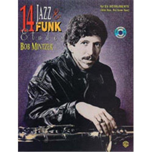 Alfred 00-EL03950 14 JAZZ & FUNK ETUDES-BB-BK&CD